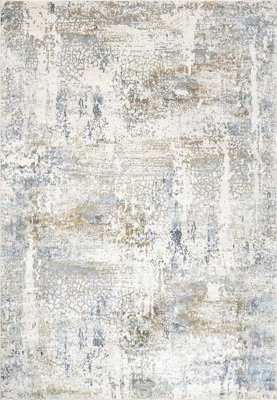 Dynamic Rugs Quartz 27050-150 Ivory/Blue Area Rug