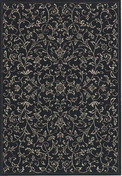 Dynamic Rugs Regal 88817-3939 Black Taupe Area Rug