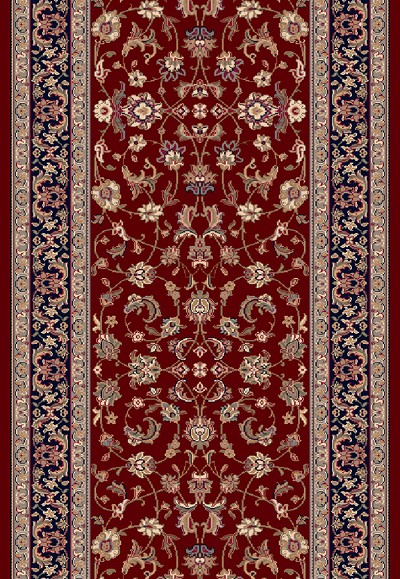 Brilliant 72284 331 Red 2 9 Quot Wide Runner By Dynamic Rugs
