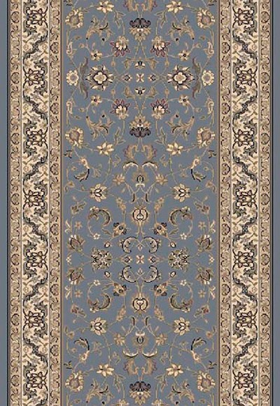 "Dynamic Rugs Brilliant 72284-920 Blue 2'2"" Wide Hall and Stair Runner"