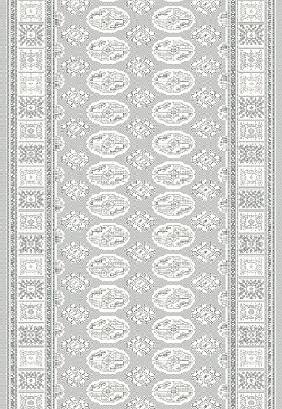 "Dynamic Rugs Imperial 12146-900 Grey 2'7"" Wide Hall and Stair Runner"