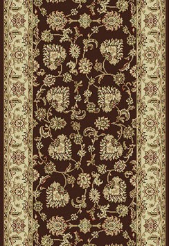 "Dynamic Rugs Legacy 58020-600 Brown 2'2"" Wide Hall and Stair Runner"