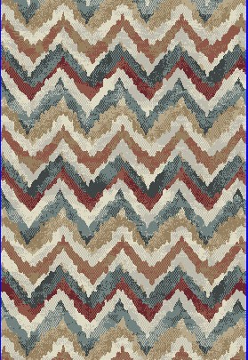 "Dynamic Rugs Melody 985018-996 Multi 2'7"" Wide Hall and Stair Runner"