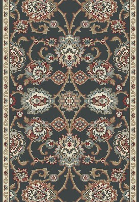 "Dynamic Rugs Melody 985020-558 Anthrocite 2'2"" Wide Hall and Stair Runner"