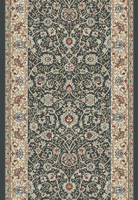 "Dynamic Rugs Melody 985022-558 Anthrocite 2'2"" Wide Hall and Stair Runner"
