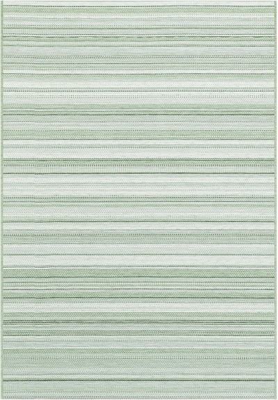"Dynamic Rugs Newport 96005-4003 Green/Ivory 2'2"" Wide Hall and Stair Runner"