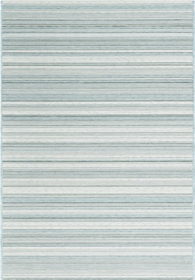 "Dynamic Rugs Newport 96005-5003 Ivory/Blue 2'7"" Wide Hall and Stair Runner"