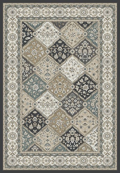 Dynamic Rugs Yazd 8471-910 Grey Ivory Area Rug