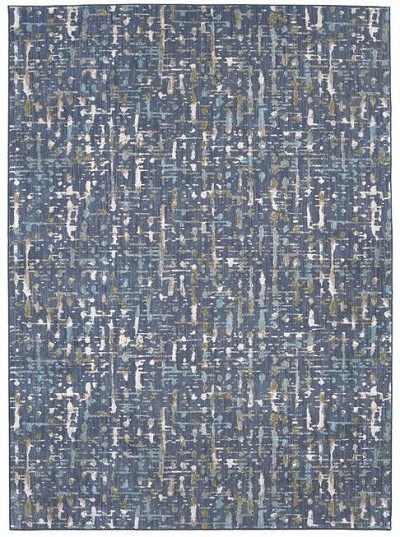 Karastan Expressions 91668-50136 Wellspring Admiral Blue by Scott Living Area Rug