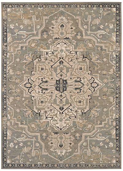 Karastan Kismet 39478 22002 Oracle Seaglass Area Rug