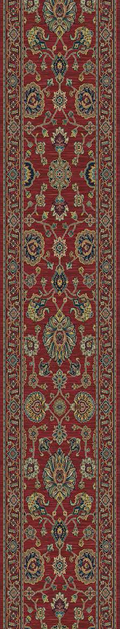 "Karastan Sovereign Sultana Red B990R-14606 2' 6"" (30"") Wide Hall and Stair Runner"
