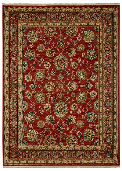 "Karastan Sovereign 990-14606 Sultana Red 8'8"" X 12'0"" Area Rug - LAST ONE!"