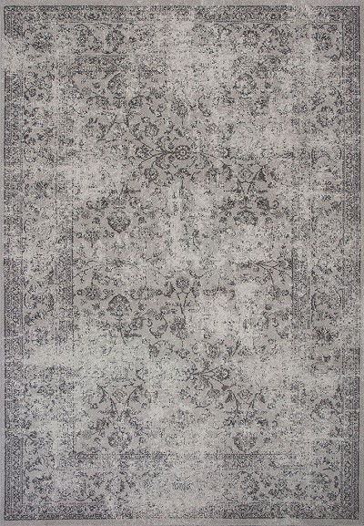 Kas Reflections 7427 Grey Vintage Area Rug Carpetmart Com
