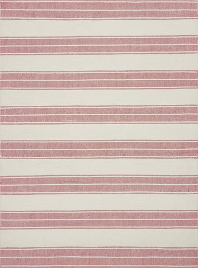 Carter KC-02 Ivory Red Area Rug - Magnolia Home by Joanna Gaines