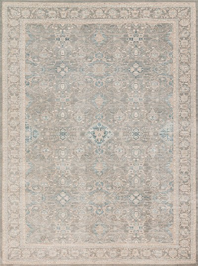 Ella Rose EJ-04 Steel Steel Area Rug - Magnolia Home by Joanna Gaines