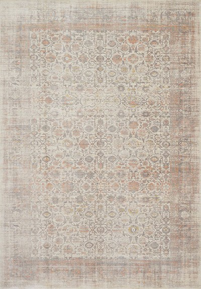 Ella Rose EJ-06 Bone/Multi Area Rug - Magnolia Home By Joanna Gaines