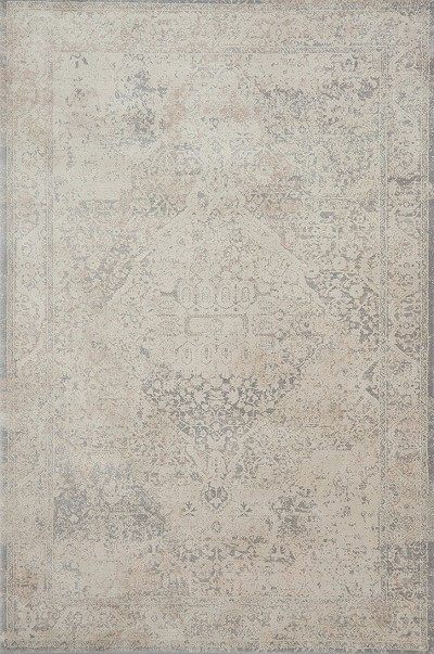 Everly VY-03 Ivory Ivory Area Rug - Magnolia Home by Joanna Gaines