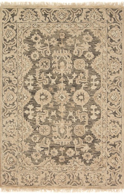 Hanover OH-05 Grey Grey Area Rug - Magnolia Home by Joanna Gaines