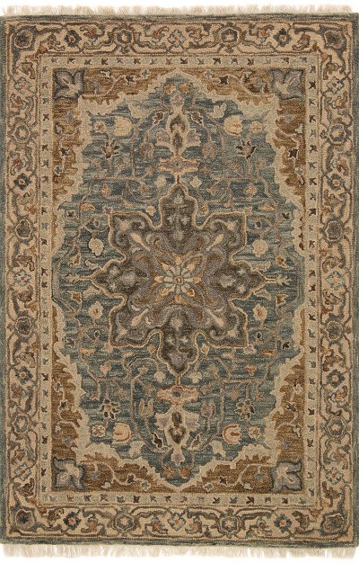 Hanover OH-07 Slate Beige Area Rug - Magnolia Home by Joanna Gaines
