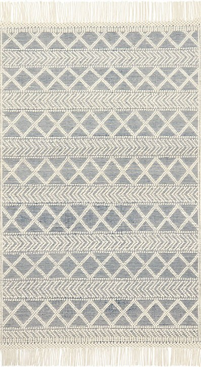 Holloway YH-03 Navy/Ivory Area Rug - Magnolia Home By Joanna Gaines