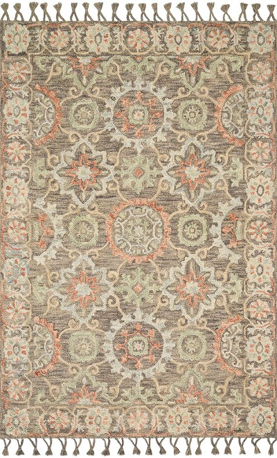 Kasuri KB-04 Sand/Multi Area Rug - Magnolia Home by Joanna Gaines