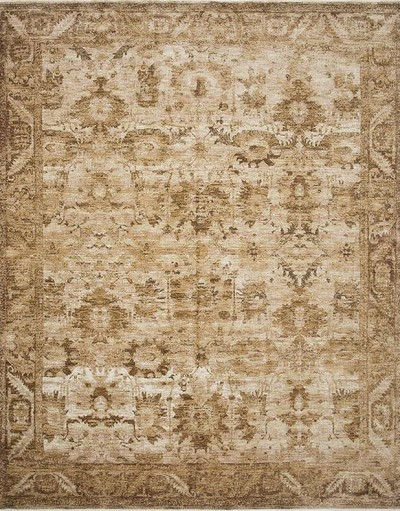 Kennedy KEN-04 Sand/Copper Area Rug - Magnolia Home by Joanna Gaines