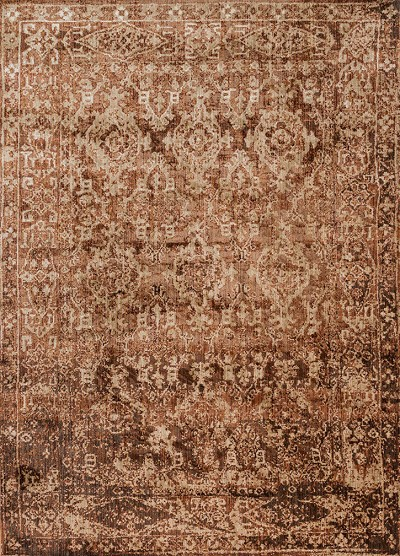 Kivi KV-04 Sand Copper Area Rug - Magnolia Home by Joanna Gaines