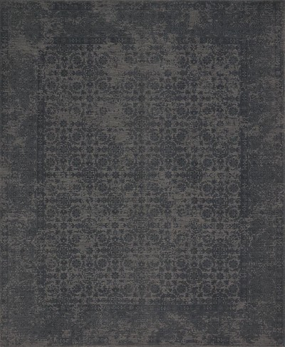Lily Park LP-02 Charcoal Area Rug - Magnolia Home by Joanna Gaines
