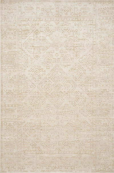 Lotus LB-08 Ivory/Cream Area Rug - Magnolia Home by Joanna Gaines