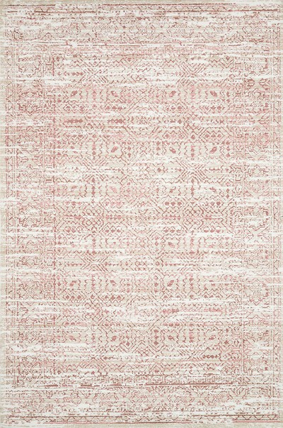 Lotus LB-11 Ivory/Blush Area Rug - Magnolia Home by Joanna Gaines