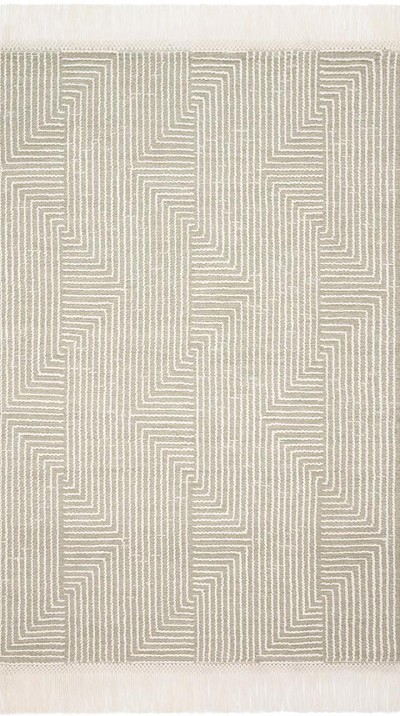 Newton NET-04 Sage/Ivory Area Rug - Magnolia Home by Joanna Gaines