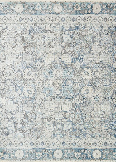 Ophelia Oe 02 Grey Sky Area Rug Magnolia Home By Joanna