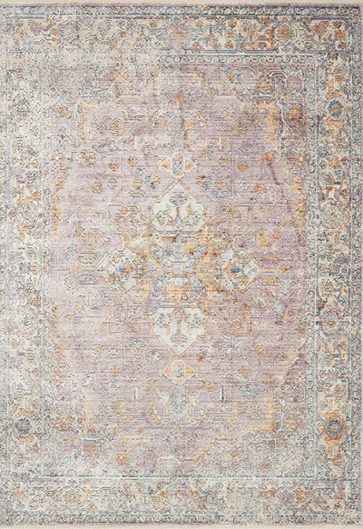 Ophelia Oe 04 Berry Multi Area Rug Magnolia Home By