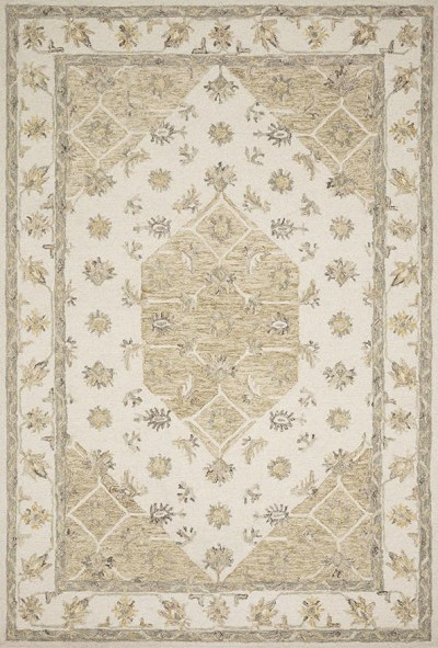 Ryeland RYE-01 Ivory/Natural Area Rug - Magnolia Home by Joanna Gaines