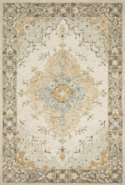 Ryeland RYE-03 Ivory/Multi Area Rug - Magnolia Home by Joanna Gaines