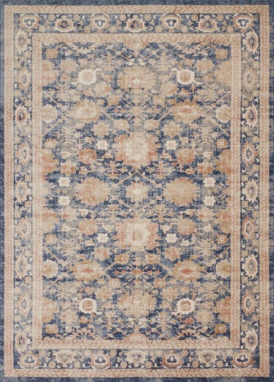 Trinity TY-03 Navy Area Rug - Magnolia Home by Joanna Gaines