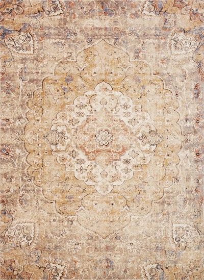 Trinity TY-07 Ant. Ivory Sand Area Rug - Magnolia Home by Joanna Gaines