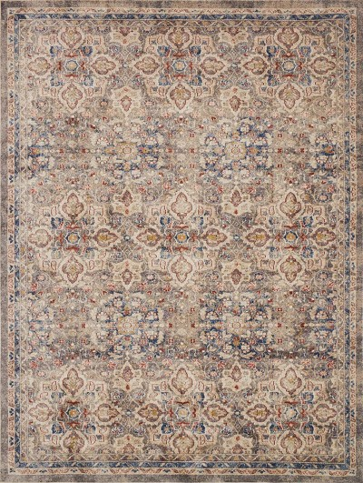 Trinity TY-09 Taupe Multi Area Rug - Magnolia Home by Joanna Gaines