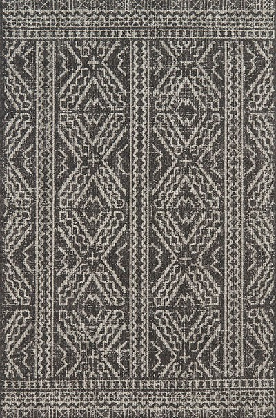 Warwick Wk 02 Blacksilver Area Rug Magnolia Home By Joanna Gaines