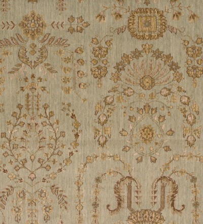 Nourison 50 to Infinity - Grand Parterre Parth Sarouk PT02 Quary-B Area Rug