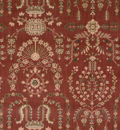Nourison 50 to Infinity - Grand Parterre Parth Sarouk PT02 Rust-B Area Rug