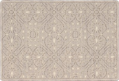 Nourison 50 to Infinity - Grosse Pointe Charlevoix Pearl/Ivory-B Custom Area Rug