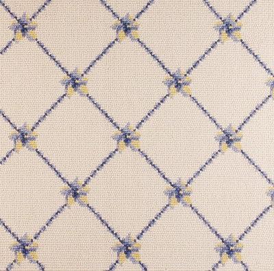 Nourison 50 to Infinity - Luxe Point Flower Trellis LP03 Ivbly-B Custom Area Rug