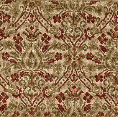 Nourison 50 to Infinity - Luxe Point Luxe Damask LP05 Cmlrd-B Custom Area Rug