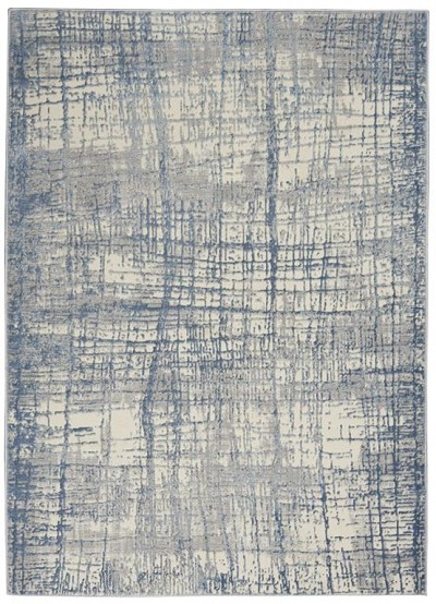 Calvin Klein Rush CK950 Ivory/Blue Area Rug