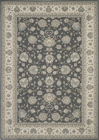 "Nubrisa Couture Limoges LIM10 Gray 8'3"" X 11'6"" Area Rug"