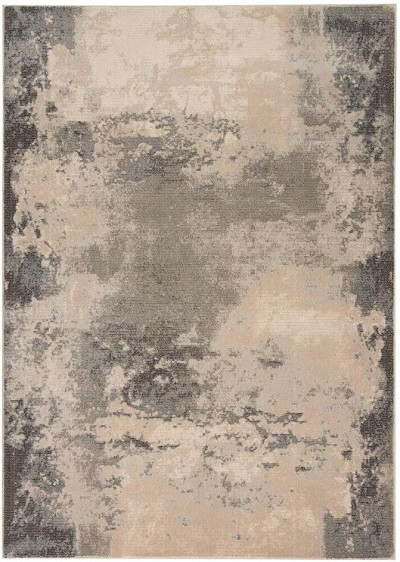 Nourison Maxell MAE13 Ivory/Grey Area Rug
