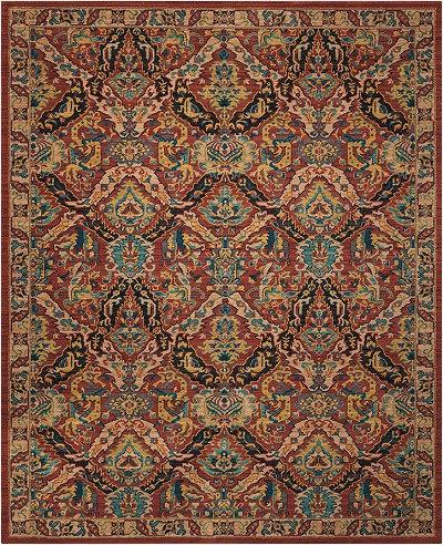"Nourison 2020 NR205 Terracotta 5'3"" X 7'5"" Area Rug - LAST ONE!"