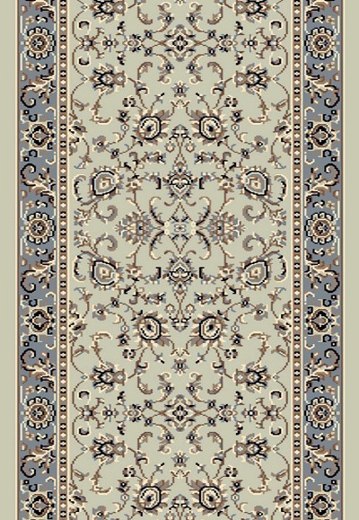 "Radici Alba 1426 Soft Mint 2'2"" (26"") Wide Hall and Stair Runner"