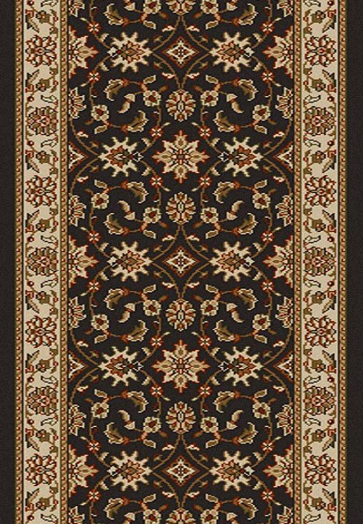 "Radici Como 1592 Brown 2'2"" (26"") Wide Hall and Stair Runner"